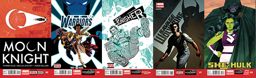 Covers Marvel B