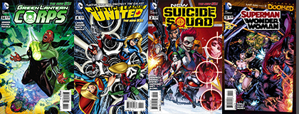 DC Covers B