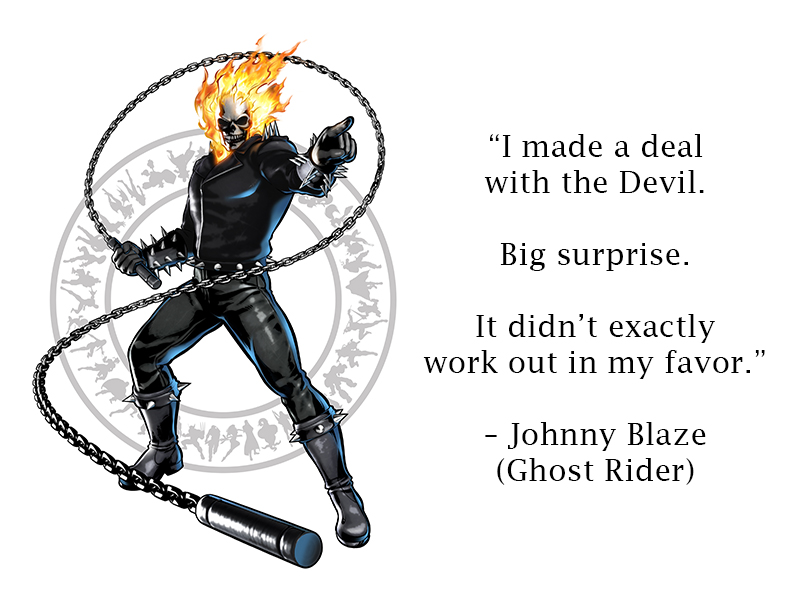 Ghost Rider Johnny Blaze