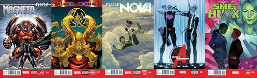 Marvel Covers B