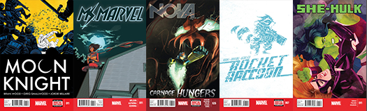 Marvel Covers C